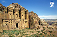The Monastery Ad Dayr (El Deir), Petra, Jordan (Licence this image exclusively with Getty: http://www.gettyimages.com/detail/82406715 )