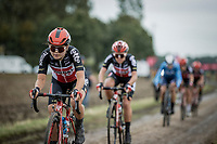 Inaugral Paris-Roubaix Femmes 2021 (1.WWT)<br /> One day race from Denain to Roubaix (FRA) (116.4km)<br /> <br /> ©kramon
