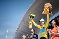 Jakob Fuglsang (DEN/Astana)<br /> <br /> 69th Critérium du Dauphiné 2017<br /> Stage 8: Albertville > Plateau de Solaison (115km)