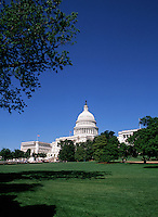 The United States Capitol building and grounds. Washington, DC.