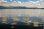Reflective calm on Moosehead Lake, ME.