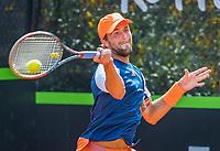 Rotterdam, Netherlands, August 22, 2017, Rotterdam Open, Boy Westerhof (NED)<br /> Photo: Tennisimages/Henk Koster