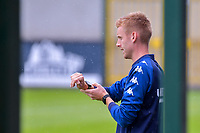 head coach Edward Still of Sporting Charleroi pictured during a friendly soccer game between Zulte Waregem and Sporting Charleroi during the preparations for the 2021-2022 season , on Saturday 10 th of July 2021 in Ingelmunster , Belgium . PHOTO STIJN AUDOOREN   SPORTPIX