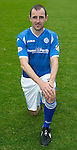 St Johnstone FC Photocall, 2015-16 Season....03.08.15<br /> Dave Mackay<br /> Picture by Graeme Hart.<br /> Copyright Perthshire Picture Agency<br /> Tel: 01738 623350  Mobile: 07990 594431