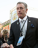 Bob Driscoll (PC - AD) - The teams walked the red carpet through the Fan Fest outside TD Garden prior to the Frozen Four final on Saturday, April 11, 2015, in Boston, Massachusetts.