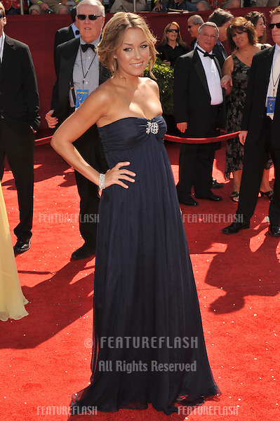 Lauren Conrad at the 2008 Primetime Emmy Awards at the Nokia Live Theatre. .September 21, 2008  Los Angeles, CA.Picture: Paul Smith / Featureflash