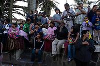14.02.2010 Coroico(Bolivia)<br /> <br /> Street scene during the carnival.<br /> <br /> Scène de rue pendant le carnaval.