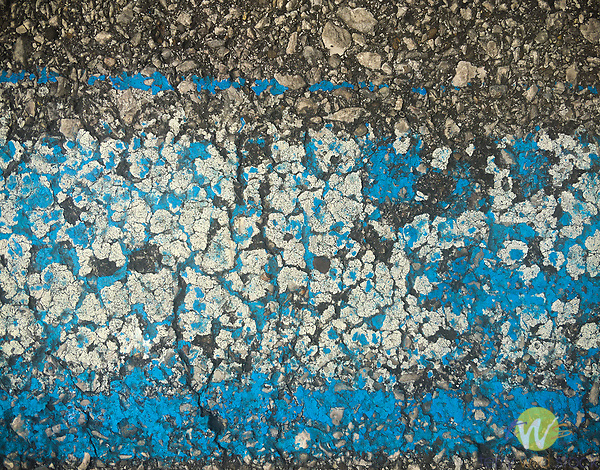 Asphalt paint abstract