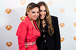 "Chenoa and Monica Naranjo during the presentation of the new TV program of Antena 3, ""Tu cara no me suena"" at  Teatro Gran Maestre in Madrid. March 08, 2017. (ALTERPHOTOS/Borja B.Hojas)"