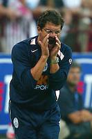 Milano 27/7/2004 Trofeo Tim - Tim tournament <br /> <br /> <br /> <br /> Fabio Capello, Juventus trainer<br /> <br /> Fabio Capello allenatore della Juventus<br /> <br /> <br /> <br /> Inter Milan Juventus <br /> <br /> Inter - Juventus 1-0<br /> <br /> Milan - Juventus 2-0<br /> <br /> Inter - Milan 5-4 d.cr - penalt.<br /> <br /> <br /> <br /> Photo Andrea Staccioli Insidefoto