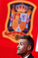 National soccer team of Spain new coach Luis Enrique Martinez during his official presentation. July 19,2018. (ALTERPHOTOS/Acero)