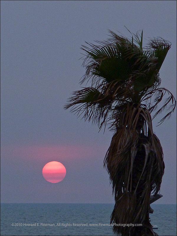 Mediterranean Sunset, Tel Aviv