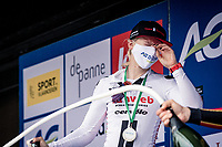 race winner Lorena Wiebes (NED/Sunweb) confirms: champagne hurts the eyes...<br /> <br /> AG Driedaagse Brugge-De Panne 2020 (1.WWT)<br /> 1 day race from Brugge to De Panne (156km) <br /> <br /> ©kramon