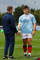 Matt Gordon of London Scottish during the Championship Cup match between London Scottish Football Club and Nottingham Rugby at Richmond Athletic Ground, Richmond, United Kingdom on 28 September 2019. Photo by Carlton Myrie / PRiME Media Images