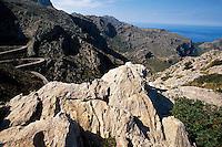 Spanien, Mallorca, Tal bei Sa Calobra