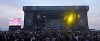 With Full Force Festival 2008 - 4.-6.7.2008  Flugplatz Roitzschjora b. Löbnitz - Das größte und breitgefächertste Metal- und Hardcorefestival in Ostdeutschland - drei Tage volle Dröhnung - über 60 Bands - Headliner in diesem Jahr u.a. Bullet for my Valentine , Machine Head , Ministry und In Flames - im Bild: Blick auf die Hauptbühne..Foto: Norman Rembarz.