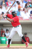 September 5, 2009: Xavier Scruggs of the Quad City River Bandits. The River Bandits are the Midwest League affiliate for the St. Louis Cardinals. Photo by: Chris Proctor/Four Seam Images