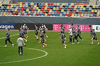 Lauftraining Nationalmannschaft in Düsseldorf - 23.03.2021: Training der Deutschen Nationalmannschaft vor dem WM-Qualifikationsspiel gegen Island, Merkus Spiel Arena Duesseldorf