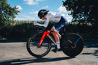 6th October 2021 Womens Cycling Tour, Stage 3. Individual Time Trial; Atherstone to Atherstone. Eugenie Duval.