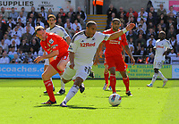 FAO SPORTS PICTURE DESK<br /> Pictured: Sunday, 13 May 2012<br /> Re: Premier League football, Swansea City FC v Liverpool FC at the Liberty Stadium, south Wales.