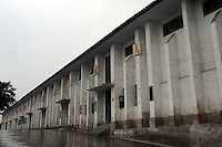 The Happiness school in Fengie on the Three Gorges Dam which is due to close due to structural damage.  Several of the new cities are suffering from structural damage due to land and earth movements caused by the 400 km Three Gorges reservoir.<br />