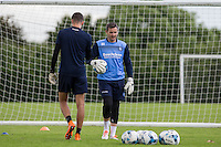 Goalkeeping Coach Barry Richardson during the Wycombe Wanderers 2016/17 Pre Season Training Session at Wycombe Training Ground, High Wycombe, England on 1 July 2016. Photo by Andy Rowland / PRiME Media Images.
