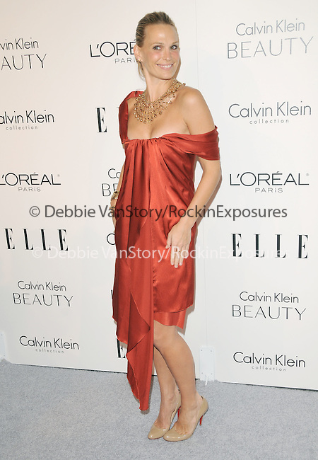 Molly Sims walks the carpet as Elle Honors Hollywood's Most Esteemed Women in the 17th Annual Women in Hollywood Tribute held at The Four Seasons Beverly Hills in Beverly Hills, California on October 18,2010                                                                               © 2010 VanStory/Hollywood Press Agency