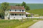White farmhouse near Laurelton.