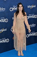 "LOS ANGELES, CA: 18, 2020: Ashley Iaconetti at the world premiere of ""Onward"" at the El Capitan Theatre.<br /> Picture: Paul Smith/Featureflash"