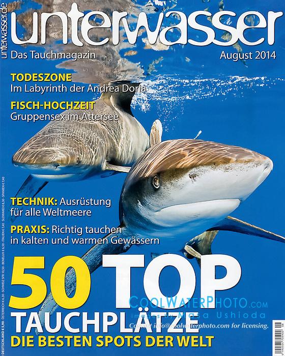 Unterwasser Magazine, August 2014, cover use, Germany