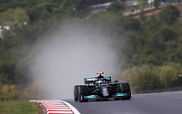 9th October 2021; Formula 1 Turkish Grand Prix 2021 Qualifying sessions at the Istanbul Park Circuit, Istanbul;    77 Valtteri Bottas FIN, Mercedes-AMG Petronas F1 Team on his way to the front row grid