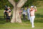 Peter Uihlein of USA plays an approach shot during the 58th UBS Hong Kong Golf Open as part of the European Tour on 11 December 2016, at the Hong Kong Golf Club, Fanling, Hong Kong, China. Photo by Marcio Rodrigo Machado / Power Sport Images