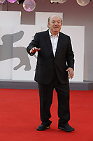 """VENICE, ITALY - SEPTEMBER 10: Lino Banfi on the red carpet for the movie """"Un Autre Monde"""" during the 78th Venice International Film Festival on September 10, 2021 in Venice, Italy.<br /> CAP/GOL<br /> ©GOL/Capital Pictures"""