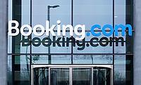 Nederland  Amsterdam - 2 jan 2021.     Kantoor van Booking.com      Foto : ANP/ HH / Berlinda van Dam