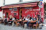 Europa, Frankreich, France, Paris, Montmartre, Creperie Le Tire- Bouchon, 07.09.2014