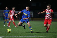 Billy Hayes of Romford during Romford vs Tilbury, Pitching In Isthmian League North Division Football at Mayesbrook Park on 29th September 2021