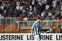 ATENÇÃO EDITOR: FOTO EMBARGADA PARA VEÍCULOS INTERNACIONAIS SÃO PAULO,SP,08 SETEMBRO 2012 - CAMPEONATO BRASILEIRO - CORINTHIANS x GREMIO -Kleber  jogador do Gremio durante partida Corinthians x Gremio válido pela 23º rodada do Campeonato Brasileiro no Estádio Paulo Machado de Carvalho (Pacaembu), na região oeste da capital paulista na noite deste sabado (08).(FOTO: ALE VIANNA -BRAZIL PHOTO PRESS)