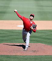 Chris Rodriguez - Los Angeles Angels 2021 spring training (Bill Mitchell)