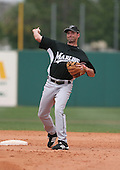 Zach Sorensen of the Florida Marlins vs. the Houston Astros March 15th, 2007 at Osceola County Stadium in Kissimmee, FL during Spring Training action.  Photo copyright Mike Janes Photography 2007.
