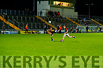 Brian Looney, Dr. Crokes in action against Pa Kilkenny, Mid Kerry during the Kerry County Senior Football Championship Semi-Final match between Mid Kerry and Dr Crokes at Austin Stack Park in Tralee, Kerry.
