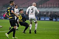 inter-benevento - milano 30 gennaio 2021 - 20° giornata serie A - nella foto: lautaro martinez gol 2-0