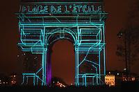CÈlÈbration du 31 DÈcembre Arc de Triomphe de Paris 31/12/2016 # GRAND SPECTACLE A L'ARC DE TRIOMPHE POUR LA NOUVELLE ANNEE