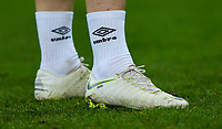A close up of the boots of Blackburn Rovers' Harrison Reed<br /> <br /> Photographer Alex Dodd/CameraSport<br /> <br /> Emirates FA Cup Third Round - Newcastle United v Blackburn Rovers - Saturday 5th January 2019 - St James' Park - Newcastle<br />  <br /> World Copyright © 2019 CameraSport. All rights reserved. 43 Linden Ave. Countesthorpe. Leicester. England. LE8 5PG - Tel: +44 (0) 116 277 4147 - admin@camerasport.com - www.camerasport.com
