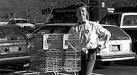 John Dallahan working as an Alpha Beta shopping cart boy, 1987.  &#xA;<br />