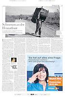 German weekly DIE ZEIT<br /> November 13, 2008<br /> Photographer: Timo Vogt
