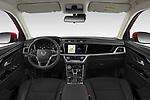 Stock photo of straight dashboard view of 2020 Ssangyong Korando Onyx 5 Door SUV Dashboard