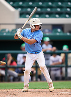 East Lake Eagles Marco Dinges (5) during the 42nd Annual FACA All-Star Baseball Classic on June 5, 2021 at Joker Marchant Stadium in Lakeland, Florida.  (Mike Janes/Four Seam Images)