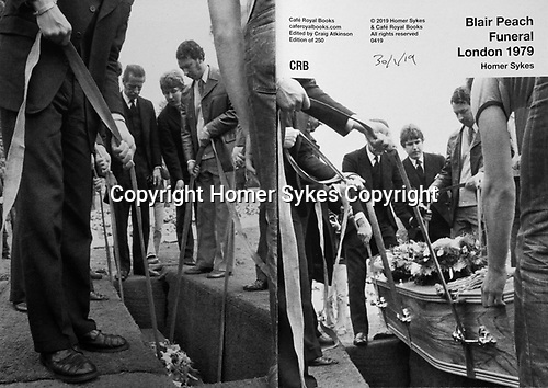 Blair Peach Funeral London 1979. Cafe Royal Books published April 2019.<br /> <br /> Copies available. £10-00 including p&p.