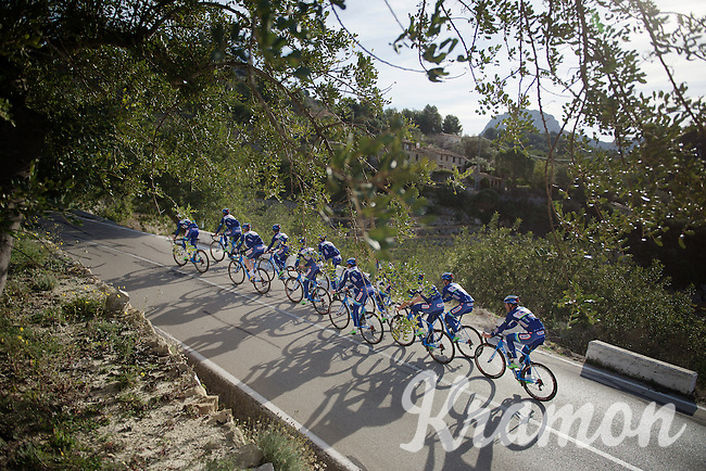 Pro Cycling Team Wanty-Groupe Gobert<br /> <br /> 2016 pre-season training camp in Alicante, Spain