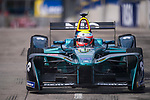 Oliver Turvey of Great Britain from NIO Formula E Team competes in the Formula E Qualifying Session 1 during the FIA Formula E Hong Kong E-Prix Round 1  at the Central Harbourfront Circuit on 02 December 2017 in Hong Kong, Hong Kong. Photo by Marcio Rodrigo Machado / Power Sport Images